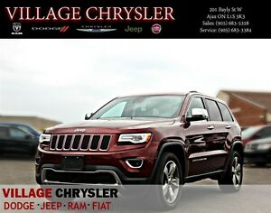 2016 Jeep Grand Cherokee Limited Luxury Group II,Blind Spot moni