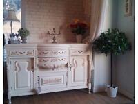 French chic buffet sideboard