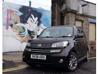 2008 Daihatsu Materia 1.5 bi-fuel dual fuel lpg tow bar autogas UK CAR