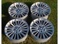 Genuine OEM BMW 18x8J Style 416 5x120 'Luxury Line' Alloy Wheels 6796249