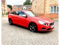 2012 VOLVO V60 R-DESIGN 1.6 DIESEL, £30 TAX, 70 MPG, MOT JUN 2019, SERVICE HISTORY, HPI CLEAR