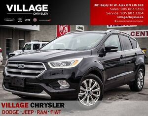 2017 Ford Escape Titanium 4X4 Nav, Sunroof, Bluetooth, Blindspot