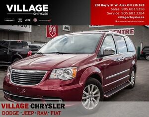 2016 Chrysler Town & Country Limited Platinum, Nav, Leather, Tow
