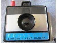 POLAROID SWINGER II LAND CAMERA INSTANT FILM CAMERA £5