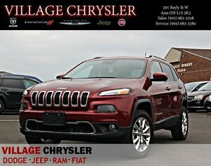 2016 Jeep Cherokee LIMITED V6 4x4 Safetytec, Technology, Panoram