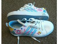 Girls Disney Princess Adidas trainers