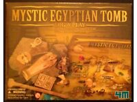'Mystic Egyptian Tomb' Dig & Play Board Game (new & sealed)