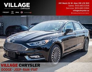 2017 Ford Fusion SE 2.0T AWD, NAV, Sunroof, Leather, Backup Cam