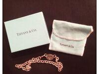 Genuine Tiffany & Co silver tag necklace