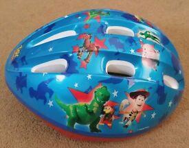Toy Story Bike Helmet - As New - size 52-56cm