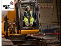 Excavator Drivers Wanted –London - VGC Group