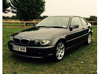 BMW 320cd 6 speed manual coupe