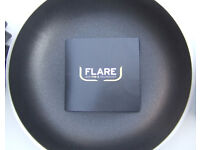 FLARE PAN SET - 3 PIECE - FRYING PAN, SAUCEPAN & CASSEROLE