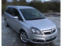 2007 Vauxhall Zafira 2.0 Design Turbo 200BHP 7-Seater MPV NOT Vectra Astra SRI VXR Passat Subaru