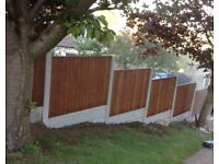vertilap 30ft fence package deal inc local delivery
