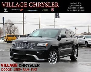 2015 Jeep Grand Cherokee SUMMIT Technology GRP, DVD, HARMAN KARD