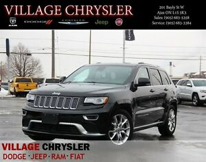 2015 Jeep Grand Cherokee SUMMIT Technology GRP,Dual DVDs,Panoram
