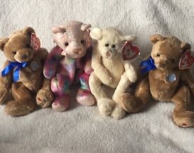 Mixed bundle of ty beanie babies