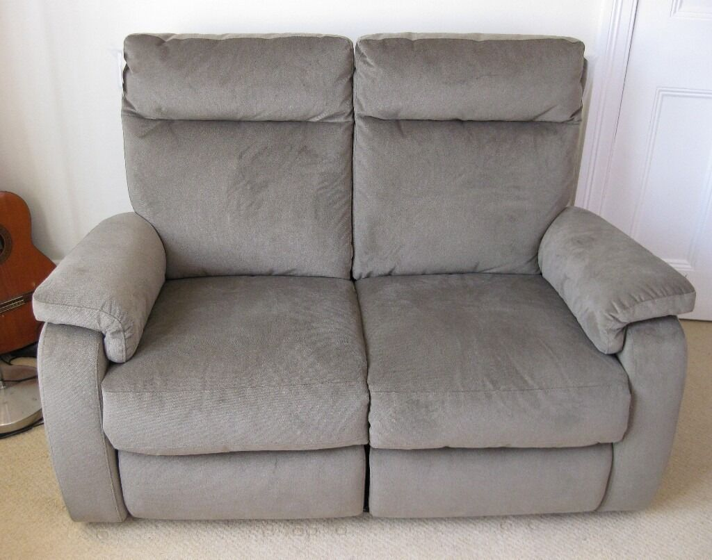ELECTRIC RECLINER SOFA Chair Double Seater AS NEW