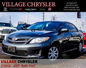 2012 Toyota Corolla CE M5 , Convenience Package,One owner, Clean
