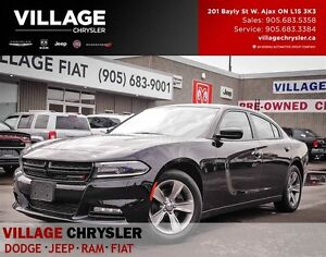 2016 Dodge Charger SXT, NAV, PWR SUNROOF, Bluetooth, Remote Star