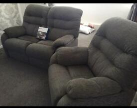 SCS 2 seater and 1 seater chair