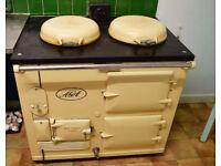 Aga, oil fired, 2 ovens, working fine