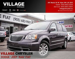 2016 Chrysler Town & Country Limited, NAV, TOW, Leather, BLINDS,