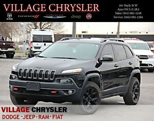 2016 Jeep Cherokee Trailhawk,V6 4x4 Safety&Technology Group,pano