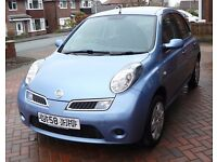 Lovely Nissan Micra 1.2 Acenta 5 door, Bluetooth, Air-con, FSH & just 18K miles.