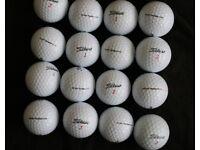 Quality Golf Balls - Titleist, Callaway and Srixon