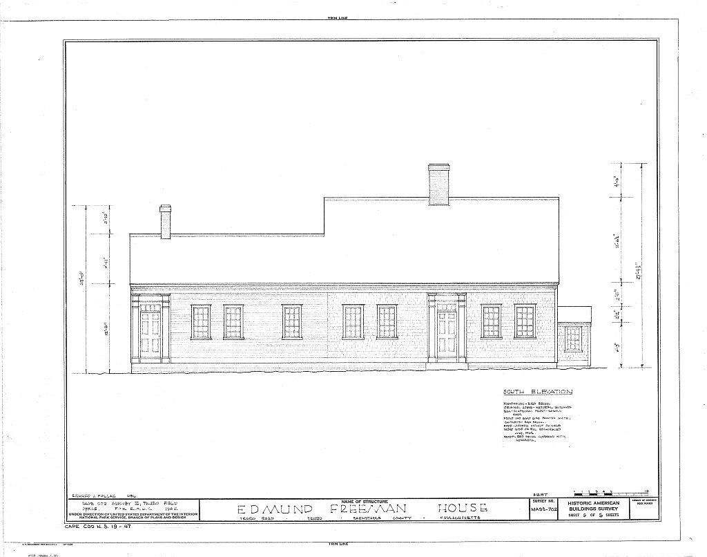 Cape Cod Colonial House Plans One Story Plan W Attic