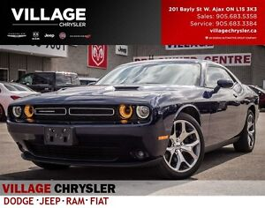 2016 Dodge Challenger SXT, Nav, Leather, Remote, Heated and Vent