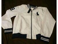 Mens White & Blue Ralph Lauren jjacket BNWT