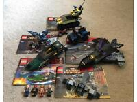 5x Lego marvel superhero sets