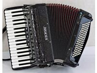 Borsini 723 Accordion - 34 / 96 - 3 Voice - Super Light Weight only 7.6kg