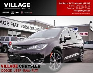 2017 Chrysler Pacifica Limited, Pansunroof,Tow,NAV,Blindspots,Bl