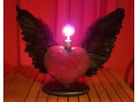 Winged Heart Lamp