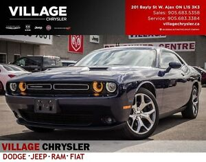 2016 Dodge Challenger SXT, LOW KMS,Nav, Leather, Remote, BACKUP