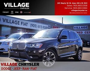 2017 BMW X3 Xdrive28i Nav, Sunroof, Backup Sensors and Camera.