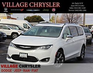 2017 Chrysler Pacifica Limited DVDs,Harmon Kardon,Pano Sunroof,T