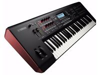 YAMAHA MOXF6 PROFESSIONAL KEYBOARD SYNTHESIZER