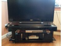 Modern Black High Gloss TV Stand suitable for TV's upto 46inch