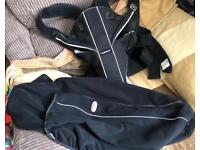 Baby bjorn carrier and rain cover