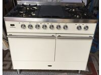 Britannia 100cm Dual Fuel Range Cooker. Cream. Brand New. Perfect Condition