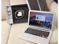 "***MACBOOK AIR 13.3"" BOXED 2.7GHz i5,4gb RAM, SSD HD,OFFICE 2016, PREMIUM SOFTWARE,"