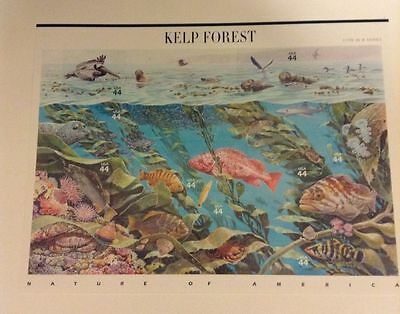 US MINT SHEET SCOTT4423,44C STAMP KELP FOREST  SHEET OF 10 MNH OG BCV $16