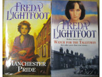Freda Lightfoot hardback books
