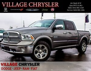 2013 Ram 1500 Crew Laramie 4X4 Nav,Leather,Pwr/Sunroof,Remote St