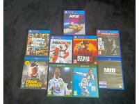 Bundle Offer: PS4 games, Xbox One Games, Blu Ray DVD's £80